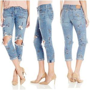 Lucky Brand Sienna Slim Boyfriend jeans 10